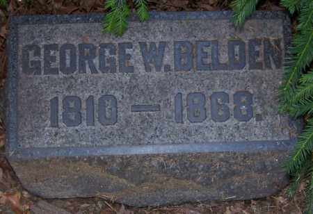 BELDEN, GEORGE W. - Stark County, Ohio | GEORGE W. BELDEN - Ohio Gravestone Photos