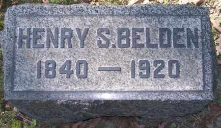 BELDEN, HENRY S. - Stark County, Ohio | HENRY S. BELDEN - Ohio Gravestone Photos
