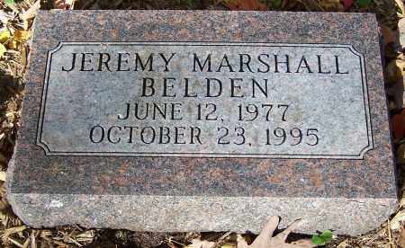 BELDEN, JEREMY MARSHALL - Stark County, Ohio | JEREMY MARSHALL BELDEN - Ohio Gravestone Photos
