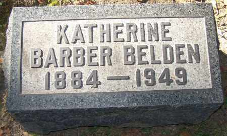 BELDEN, KATHERINE BARBER - Stark County, Ohio | KATHERINE BARBER BELDEN - Ohio Gravestone Photos