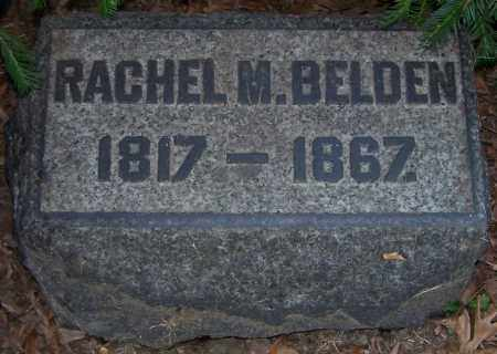 BELDEN, RACHEL M. - Stark County, Ohio | RACHEL M. BELDEN - Ohio Gravestone Photos