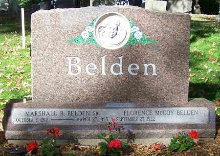 BELDEN SR., MARSHALL B. - Stark County, Ohio | MARSHALL B. BELDEN SR. - Ohio Gravestone Photos