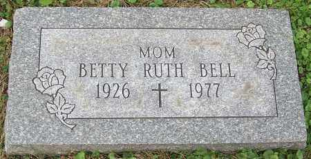 BELL, BETTY RUTH - Stark County, Ohio | BETTY RUTH BELL - Ohio Gravestone Photos