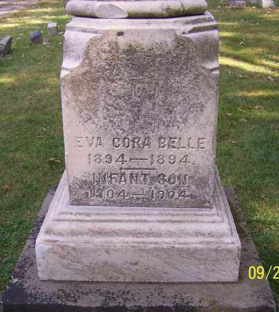 BELLE, EVA CORA - Stark County, Ohio | EVA CORA BELLE - Ohio Gravestone Photos