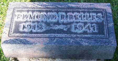 BELLES, EDMUND R. - Stark County, Ohio | EDMUND R. BELLES - Ohio Gravestone Photos