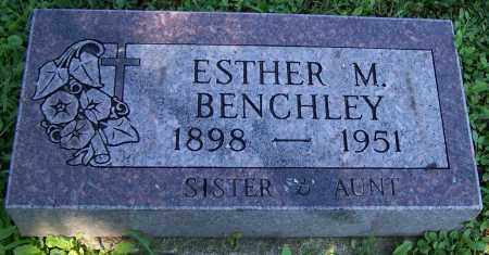 BENCHLEY, ESTHER M. - Stark County, Ohio | ESTHER M. BENCHLEY - Ohio Gravestone Photos