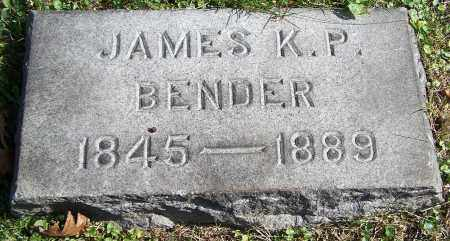 BENDER, JAMES K.P. - Stark County, Ohio | JAMES K.P. BENDER - Ohio Gravestone Photos