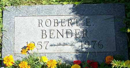 BENDER, ROBERT E. - Stark County, Ohio | ROBERT E. BENDER - Ohio Gravestone Photos