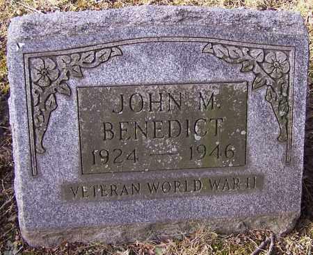 BENEDICT, JOHN M. - Stark County, Ohio | JOHN M. BENEDICT - Ohio Gravestone Photos