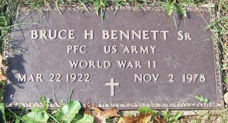 BENNETT, BRUCE H. SR. - Stark County, Ohio | BRUCE H. SR. BENNETT - Ohio Gravestone Photos