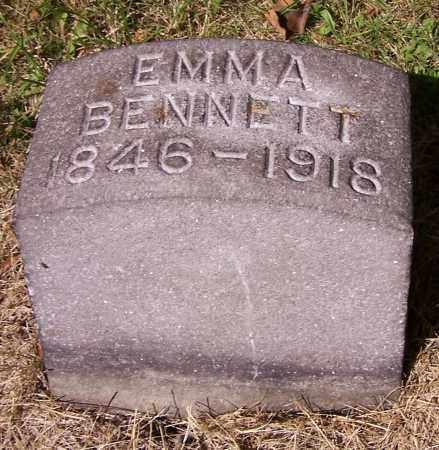 BENNETT, EMMA - Stark County, Ohio | EMMA BENNETT - Ohio Gravestone Photos