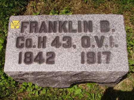 BENNETT, FRANKLIN BENJAMIN - Stark County, Ohio | FRANKLIN BENJAMIN BENNETT - Ohio Gravestone Photos