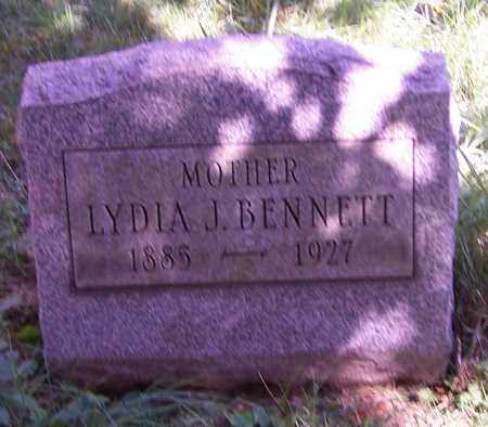 KNEPPER BENNETT, LYDIA J. - Stark County, Ohio | LYDIA J. KNEPPER BENNETT - Ohio Gravestone Photos