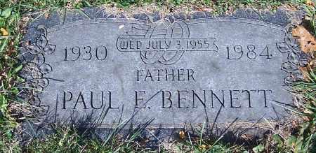 BENNETT, PAUL E. - Stark County, Ohio   PAUL E. BENNETT - Ohio Gravestone Photos