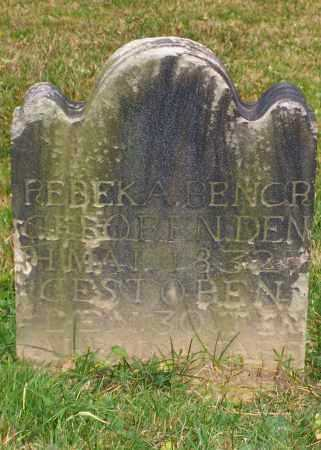 BENOR / BENCR, REBEKA - Stark County, Ohio | REBEKA BENOR / BENCR - Ohio Gravestone Photos