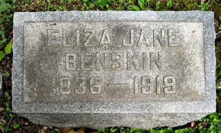 BENSKIN, ELIZA JANE - Stark County, Ohio | ELIZA JANE BENSKIN - Ohio Gravestone Photos