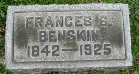 BENSKIN, FRANCES - Stark County, Ohio | FRANCES BENSKIN - Ohio Gravestone Photos