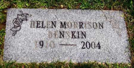 MORRISON BENSKIN, HELEN - Stark County, Ohio | HELEN MORRISON BENSKIN - Ohio Gravestone Photos