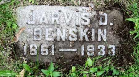 BENSKIN, JARVIS D. - Stark County, Ohio | JARVIS D. BENSKIN - Ohio Gravestone Photos