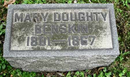 DOUGHTY BENSKIN, MARY - Stark County, Ohio | MARY DOUGHTY BENSKIN - Ohio Gravestone Photos