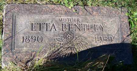 BENTLEY, ETTA - Stark County, Ohio | ETTA BENTLEY - Ohio Gravestone Photos