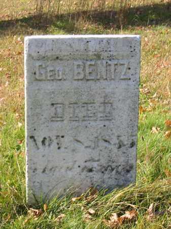 BENTZ, GEORGE - Stark County, Ohio   GEORGE BENTZ - Ohio Gravestone Photos