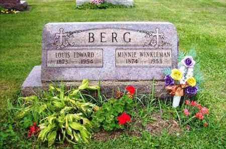 BERG, MINNIE - Stark County, Ohio | MINNIE BERG - Ohio Gravestone Photos