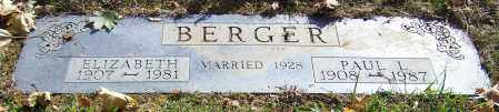 BERGER, ELIZABETH - Stark County, Ohio | ELIZABETH BERGER - Ohio Gravestone Photos