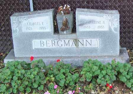BERGMANN, JACQUELINE A. - Stark County, Ohio | JACQUELINE A. BERGMANN - Ohio Gravestone Photos