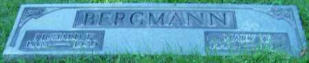 BERGMANN, MARY W. - Stark County, Ohio | MARY W. BERGMANN - Ohio Gravestone Photos