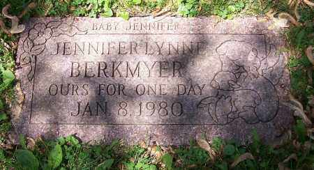 BERKMYER, JENNIFER LYNNE - Stark County, Ohio | JENNIFER LYNNE BERKMYER - Ohio Gravestone Photos