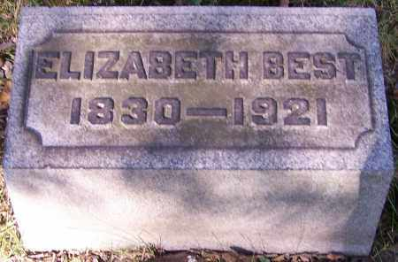 BEST, ELIZABETH - Stark County, Ohio | ELIZABETH BEST - Ohio Gravestone Photos