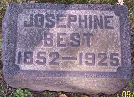 BEST, JOSEPHINE - Stark County, Ohio | JOSEPHINE BEST - Ohio Gravestone Photos