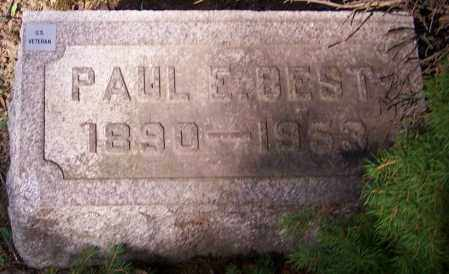 BEST, PAUL E. - Stark County, Ohio | PAUL E. BEST - Ohio Gravestone Photos