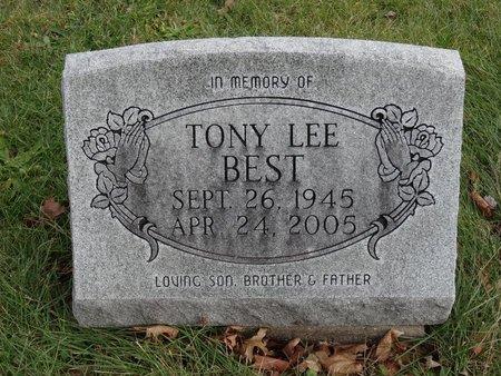 BEST, TONY LEE - Stark County, Ohio | TONY LEE BEST - Ohio Gravestone Photos