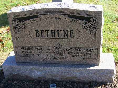 BETHUNE, VERNON PAUL - Stark County, Ohio | VERNON PAUL BETHUNE - Ohio Gravestone Photos