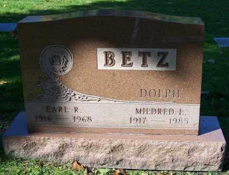 BETZ, EARL R. - Stark County, Ohio | EARL R. BETZ - Ohio Gravestone Photos