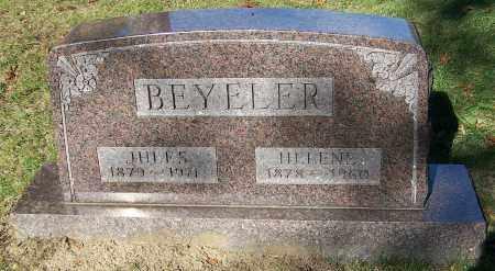 BEYELER, JULES - Stark County, Ohio | JULES BEYELER - Ohio Gravestone Photos