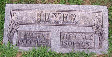 BEYER, FLORENCE - Stark County, Ohio | FLORENCE BEYER - Ohio Gravestone Photos