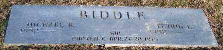 BIDDLE, MICHAEL K. - Stark County, Ohio | MICHAEL K. BIDDLE - Ohio Gravestone Photos