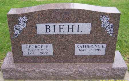 BIEHL, GEORGE H. - Stark County, Ohio | GEORGE H. BIEHL - Ohio Gravestone Photos