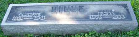 BILLE, GUSTAVE - Stark County, Ohio | GUSTAVE BILLE - Ohio Gravestone Photos