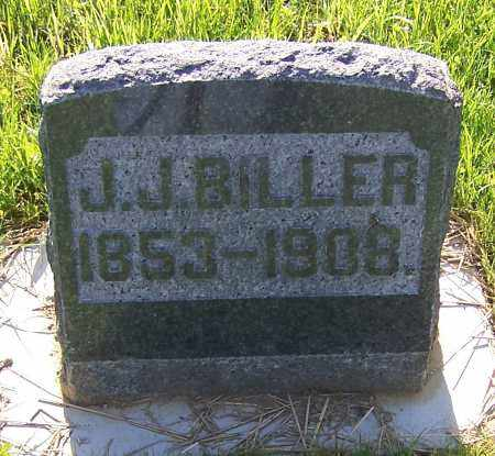 BILLER, J.J. - Stark County, Ohio | J.J. BILLER - Ohio Gravestone Photos