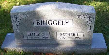BINGGELY, ELMER C. - Stark County, Ohio | ELMER C. BINGGELY - Ohio Gravestone Photos