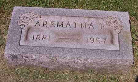 BINKLEY, AREMATHA F. - Stark County, Ohio | AREMATHA F. BINKLEY - Ohio Gravestone Photos