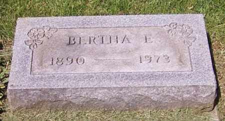 BINKLEY, BERTHA E. - Stark County, Ohio | BERTHA E. BINKLEY - Ohio Gravestone Photos