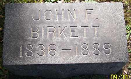 BIRKETT, JOHN F. - Stark County, Ohio | JOHN F. BIRKETT - Ohio Gravestone Photos