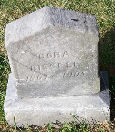 BISCELL, CORA - Stark County, Ohio | CORA BISCELL - Ohio Gravestone Photos