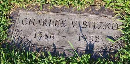 BITZKO, CHARLES V. - Stark County, Ohio | CHARLES V. BITZKO - Ohio Gravestone Photos