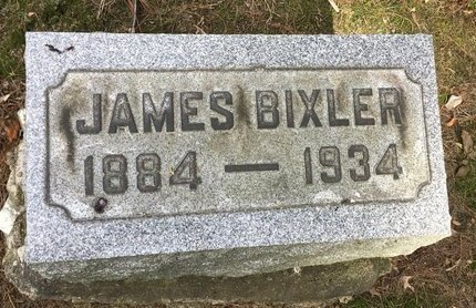 BIXLER, JAMES - Stark County, Ohio | JAMES BIXLER - Ohio Gravestone Photos